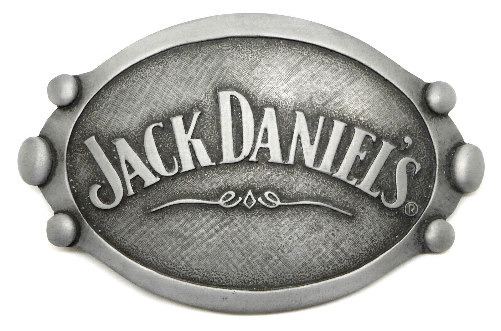 Jack Daniel`s Belt Buckle Grey Women`s Authentic Officially Licensed Product