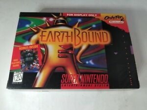EARTHBOUND-Official-Super-Nintendo-SNES-034-For-Display-Only-034-Box-NO-GAME