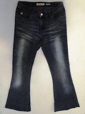 Miss Sixty Super Tommy Jeans Hose Schlaghose Dunkelblau W29 L32