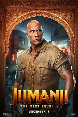 Dwayne Johnson Jumanji The Next Level Movie Art Poster 18 24x36 Print D-516