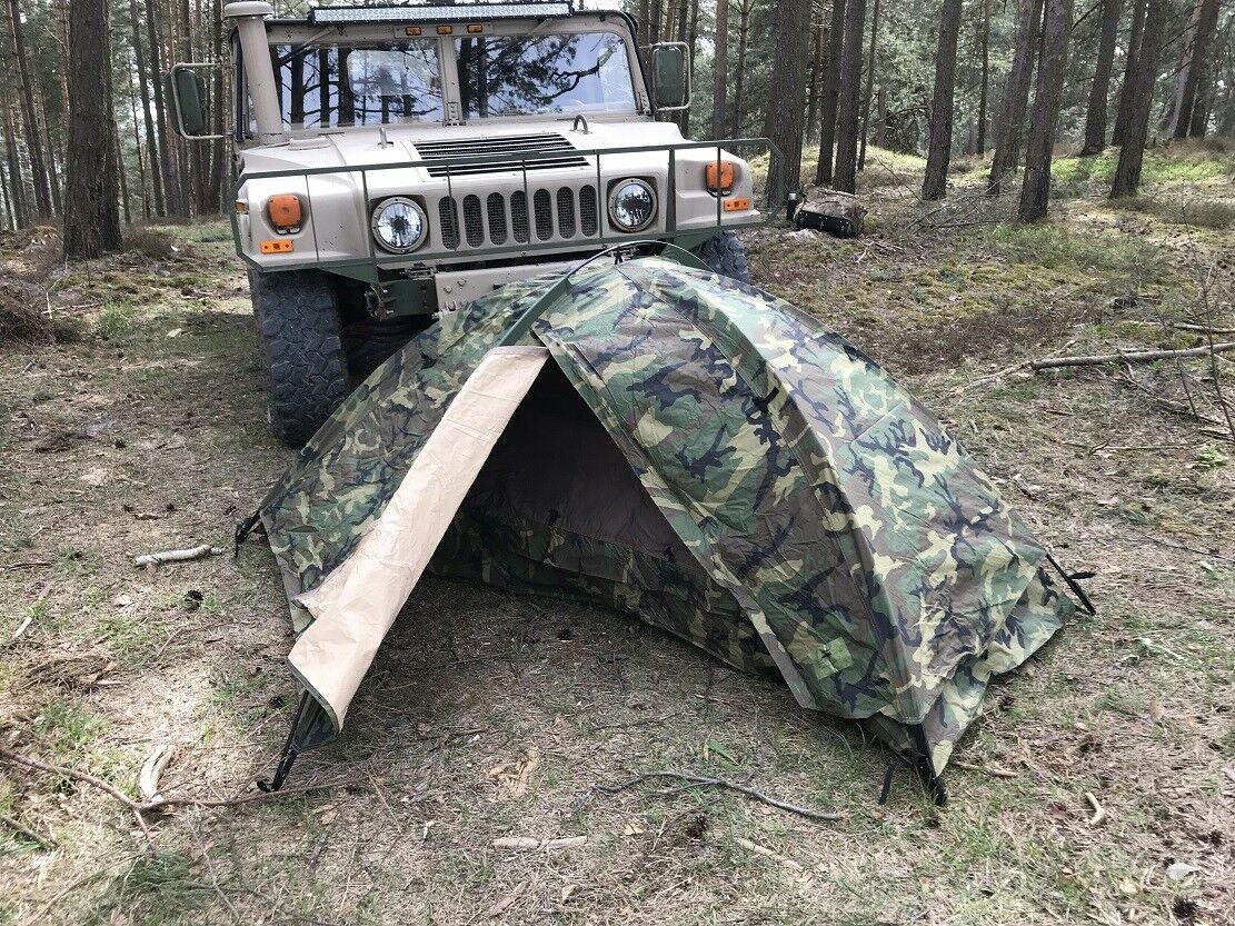 EUREKA TCOP One Person Combat WCP woodland camouflage Camping Outdoor Outdoor Outdoor Tent Zelt cc9252