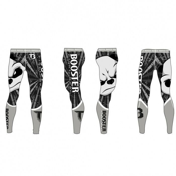 Booster- SPATS  Killer Panda    - S-L. MMA. Grappling. compression pants. Fitness. c21670