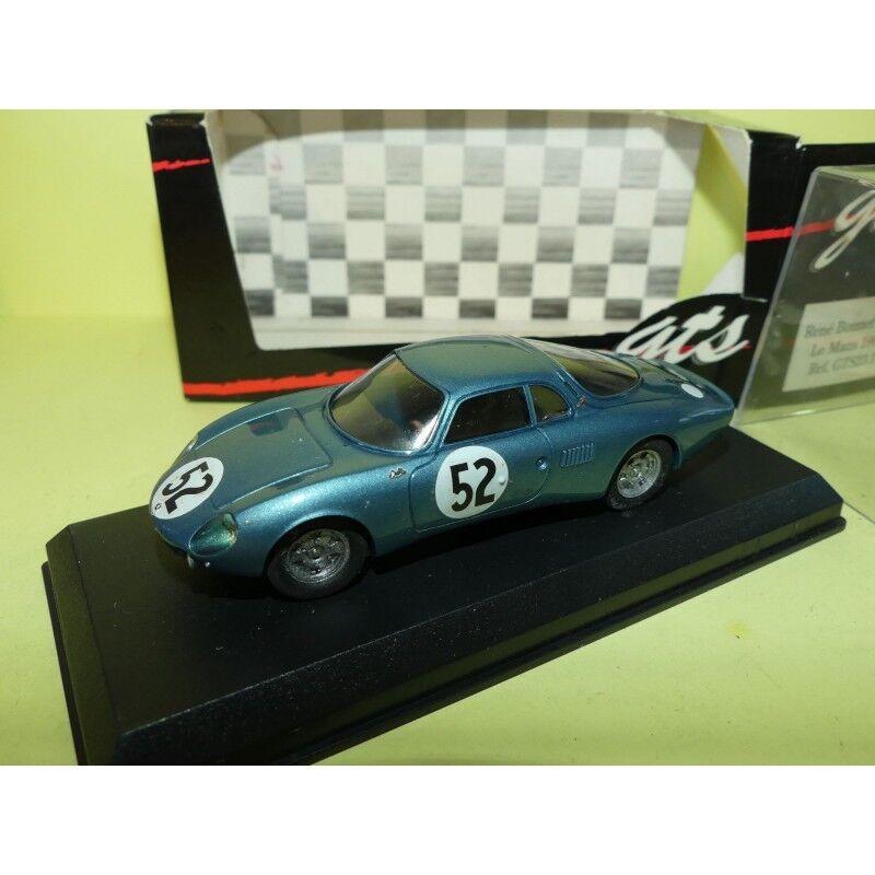 RENE BONNET N 52 LE MANS 1963 GTS GTS23.1 1:43 Abd Résine