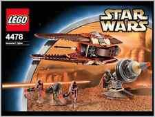 Lego Star Wars 4478 Geonosian Fighter Black Box NEW SEALED