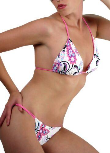 ROBERTO CAVALLI FREEDOM bikini triangle maillot de bain Swimsuit Nager Plage
