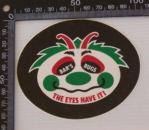 VINTAGE-BAR-039-S-BUGS-THE-EYES-HAVE-IT-SOUVENIR-TOURIST-BUMPER-STICKER