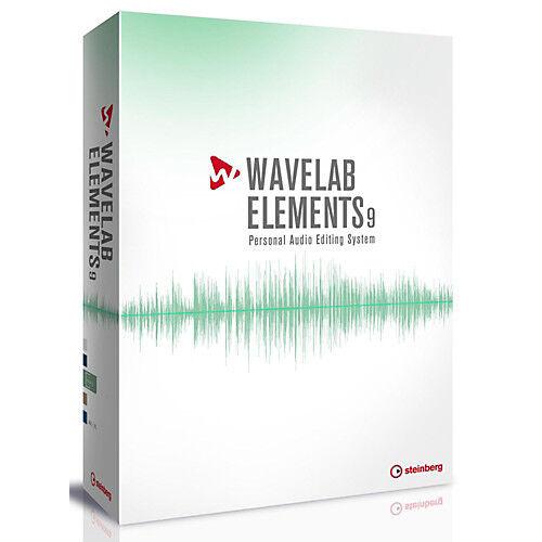 NEW Steinberg Wavelab Elements 9.5 Audio Restoration PC//MAC