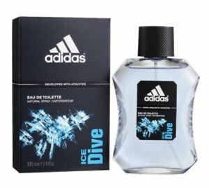 Détails sur Eau De Toilette Adidas Ice Dive Natural Spray Pour Homme 100 ml