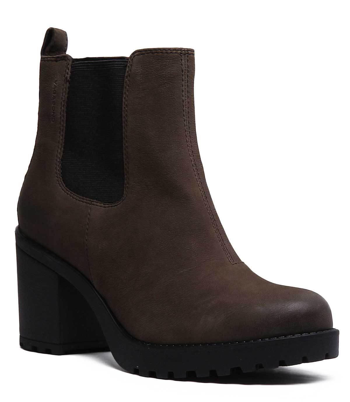 Vagabond Gracia de cuero nobuck para mujer Oliva Chelsea botas botas botas al Tobillo tamaño de Reino Unido 3 - 8  genuina alta calidad