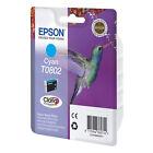 Epson Original T0802 Claria Cyan Ink Cartridge Genuine To802