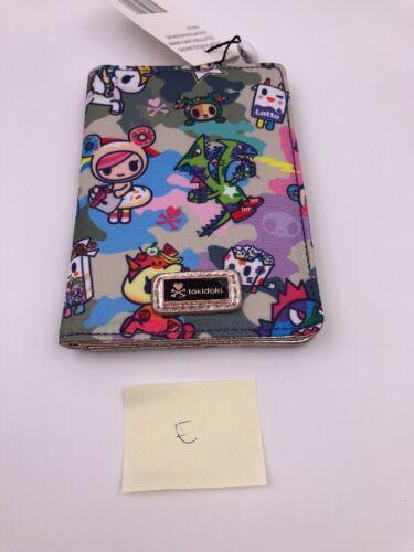 C3 Tokidoki Camo Kawaii Passport Wallet