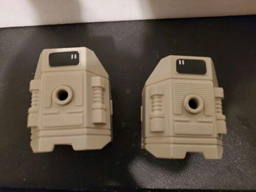 Transformers G1 Vintage Original Accessoire Metroplex Genou Armor Set