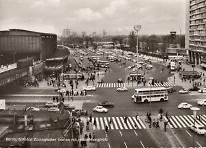 AK-inopportun-Berlin-gare-Zoologischer-jardin-avec-hardenbergplatz-g3586