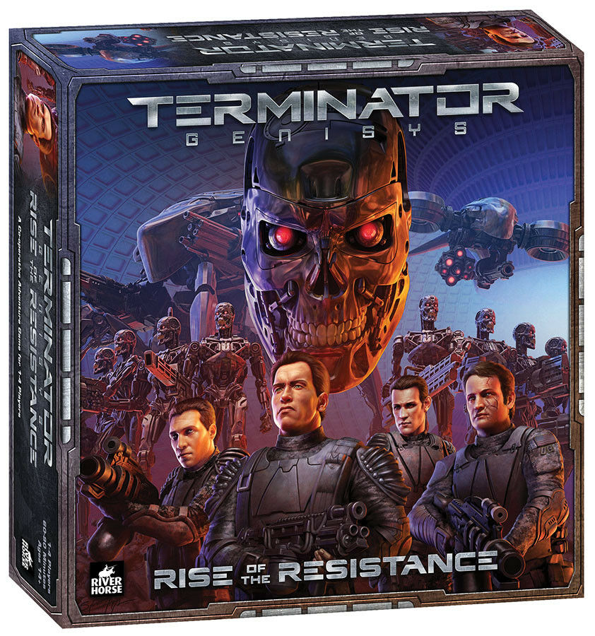 Nouveau TERMINATOR  genysis Board Game-Rise of the Resistance FACTORY SEALED