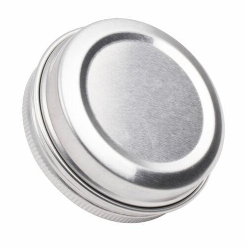30 Round Lip Metal Tin Storage Jar Balm Containers Box/&Lids Screw Top Boxes 30ml
