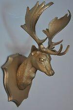 Tête de cerf / trophée de chasse vintage déco