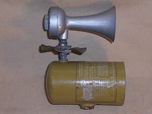 Vintage-Falcon-Automatic-Gas-Operated-Fire-Detector-Alarm-Horn-Boat-Industrial