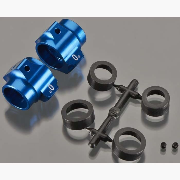Team Associated RC10SC5M 91548 Aluminum Rear Hubs, bluee