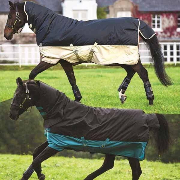Horseware Amigo Mio All in One con collo parte 0g a 350g pioggia inverno soffitto soffitto