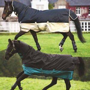 Horseware-Amigo-Mio-All-In-One-mit-Halsteil-0g-bis-350g-Regendecke-Winterdecke