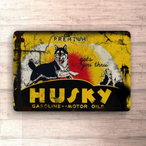 home Husky Motor Oil metalsign for garage man cave