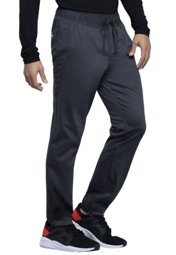 Cherokee Workwear Men Tall Natural Rise Jogger WW012T PWT Pewter Free Shipping