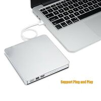 External Portable Dvd Combo Player Cd-rw Burner Drive Usb 2 For Windows 7 8 10