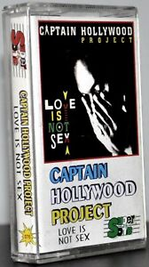 Captain-Hollywood-Project-034-Love-Is-Not-Sex-034-Seltene-polnische-Kassette