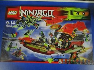Lego Ninjago 70738 Dernier vol de l'avion Ninja Nouvel Ovp