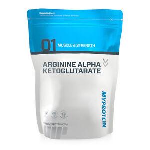83-96-kg-Myprotein-AAKG-Arginine-Aminosaeure-250g-Beutel