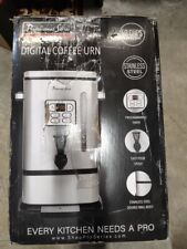 Continental Electric Ps Sq018 Coffee Urn 50 Cup Stainless Steel New Open Box