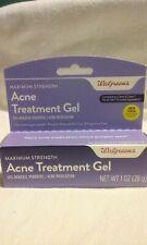 Walgreens Acne Treatment Gel 1 Oz 28 Gr For Sale Online Ebay