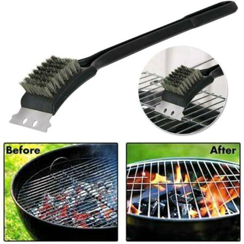 Details about  /Heavy Duty BBQ Wire Cleaning Brush Scrapers Grill Oven Cleaner Barbecue Tool