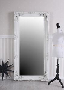 Wandspiegel Spiegel Weiss 175cm Ganzkörperspiegel Ankleidespiegel