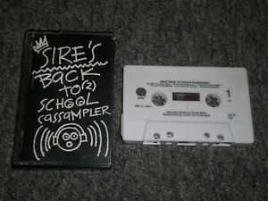 Sire's Back To School Cassampler~Ice-T~The Smiths~Ministry~Tambu~FAST SHIPPING!