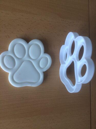Paw Print Cookie Cutter 9.5 cm x 10 cm