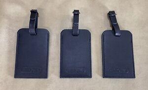 RIMOWA Leather Luggage Tags Set of 3 Black