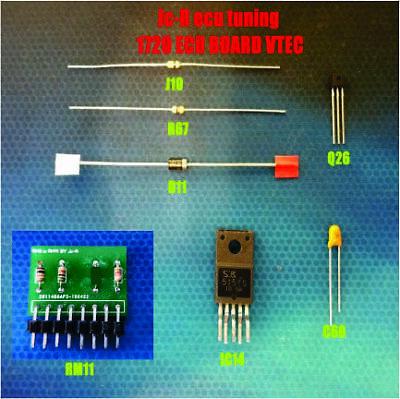 HONDA ACURA OBD1 ECU VTEC CONVERSION KIT for 11F0 Board P05 P06