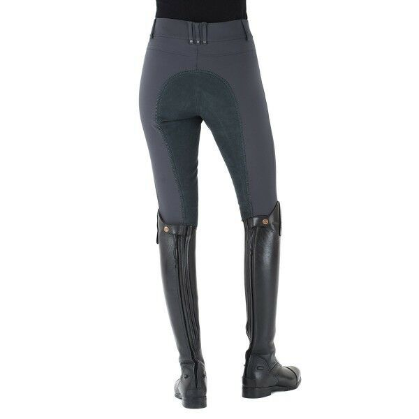ROMFH Sarafina Full Seat Riding Breeches - Ladies - Pewter - Different Sizes