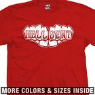 Hell Bent Fists Knuckle Tattoo T-Shirt - All Sizes & Colors Avail