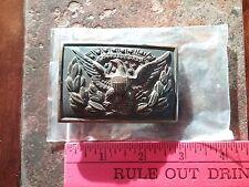 Indian War Regulation 1874 Pattern officer Eagle brass  Rare collector grade