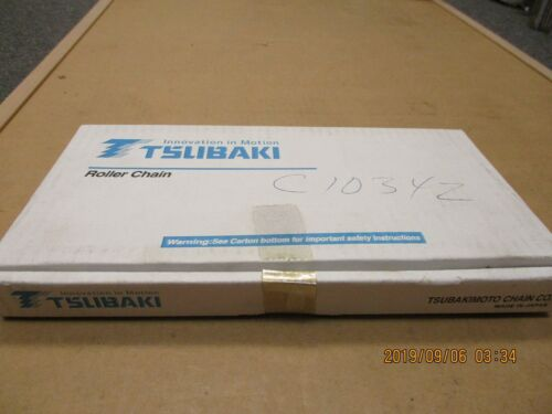 TSUBAKI RS40HP HOLLOW PIN ROLLER CHAIN Details about  /NEW 10FT BOX PREMIUM BRAND.