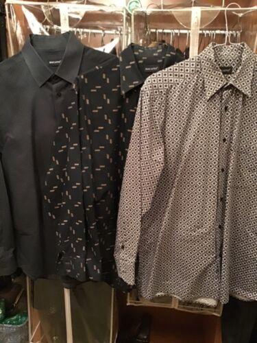 Lot of 3 Men's Riscatto dress shirts XL
