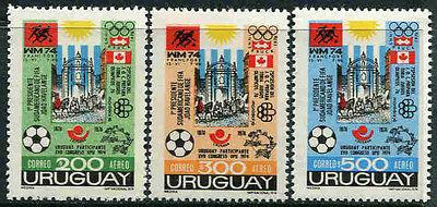 Aufrichtig Uruguay 1313-1315 * * Ereignisse Und Kongresse (4648t) Katalognummern Nach Miche Up-To-Date-Styling