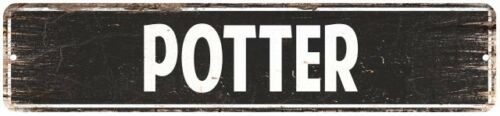 POTTER Personalized Street Sign Home Decor Chic Gift 4x18 104180003437