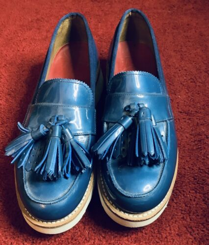 Grenson Women Loafers Size 6 Leather