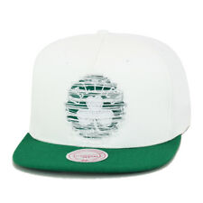 item 8 Mitchell   Ness New Boston Celtics Snapback Hat White Green Distressed  Logo -Mitchell   Ness New Boston Celtics Snapback Hat White Green Distressed  ... 0d56ba0b94b9