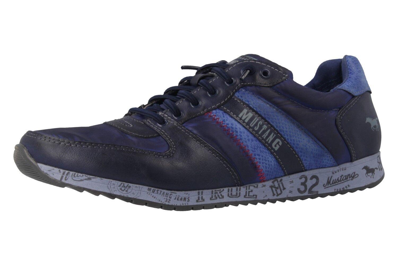 Mustang Schuhes große Sneaker in Übergrößen große Schuhes Damenschuhe Blau XXL a16fbf
