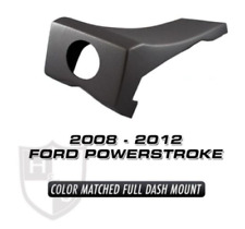H/&S Dash Mount Black MAXX MINI MAXX 08-12 Ford Powerstroke Unpainted