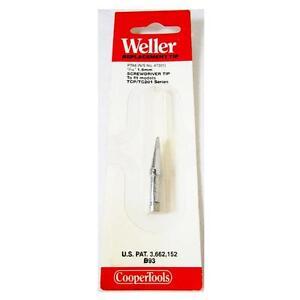 weller pta6 screwdriver tip for tc201 series soldering iron ebay. Black Bedroom Furniture Sets. Home Design Ideas